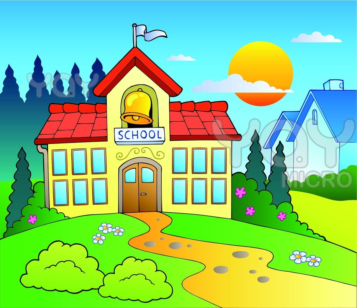 School Building Cartoon Images \x3cb\x3ecartoon school building\x3c/b