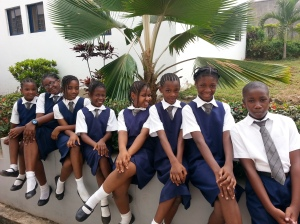 From Left to Right: Wunmi, Chayil, Semilore, Dunbarin, Funmi and Bimpe