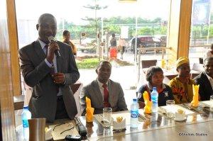 Mr I.O Akanbi. Principal of The Vale College, Ibadan