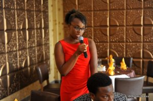 Nifemi: A brilliant young lady with a very bright future.
