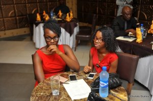 My Girls. They look good, yeah? #Nifemi&Bolanle