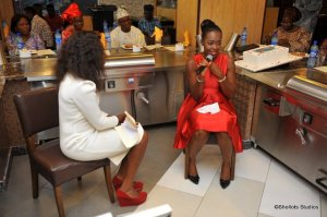 Interview Session with Precious Amayo. Prepre, I'm coming for that gown.