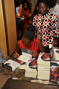 #BookSigning [see Ms. Meg looking on with pride]