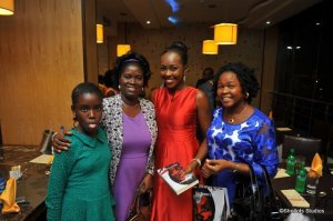 Dr Fadekemi , her pretty daughter, Jemima and Mrs Adeyemo