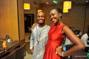 Yinka was my host. He made planning the dinner sooooo easy