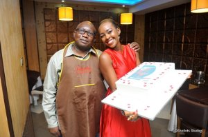Kabachi himself. Thank you, Sir. I appreciate all you did to make this a reality. By the way, the cake was super heavy.