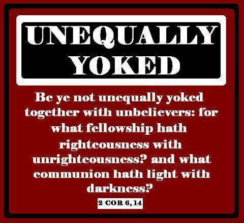 Unevenly yoked dating